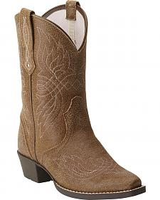 Ariat Tribute Girls' Cowgirl Boots - Snip Toe