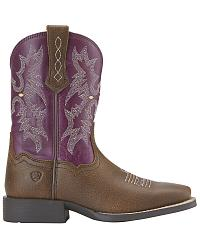 Ariat Purple Boots - Boot Hto