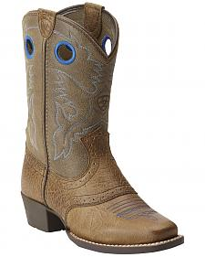 Ariat Kids' Roughstock Boots - Square Toe