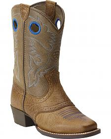 Ariat Roughstock Youth Boots - Square Toe