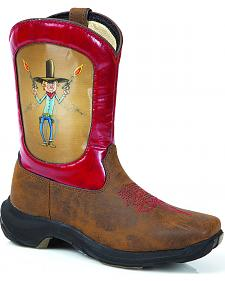Durango Infant's Bang Bang Cowboy Boots - Square Toe