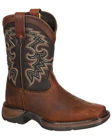 Durango Toddler Boys' Raindrop Western Boots - Square Toe