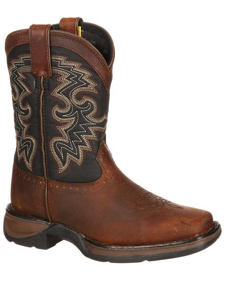 Durango Toddler Boys' Raindrop Western Boots - Square Toe