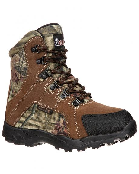 Rocky Youth Boys' Hunting Waterproof Insulated Boots
