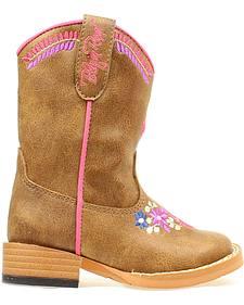 Blazin Roxx Toddler Girls' Sashay Embroidered Boots