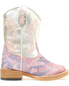 Blazin Roxx Toddler Girls' Jolene Glitter Camo Boots