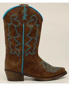 Blazin Roxx Youth Girls' Caroline Boots - Snip Toe