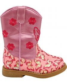 Blazin Roxx Toddler Girls' Lil' Pecos Boots - Round Toe