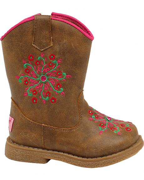 Blazin Roxx Toddler Girls' Lil' Savvy Boots - Round Toe