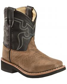 Swift Creek Toddlers Western Boots - Square Toe