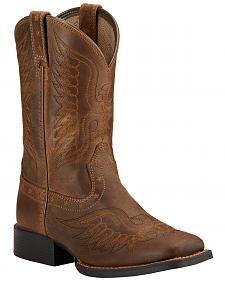 Ariat Youth Boys' Honor Cowboy Boots - Square Toe