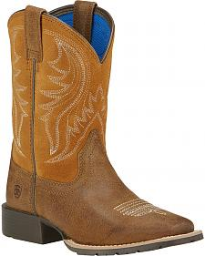 Ariat Boys' Hybrid Rancher Western Boots - Square Toe