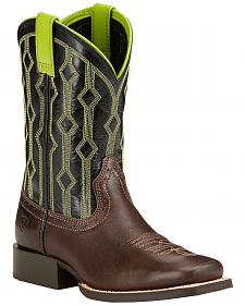 Ariat Children's Live Wire Cowboy Boots - Square Toe