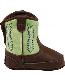 Double Barrel Wyatt Baby Bucker Boots