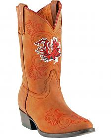 Gameday Boots Girls' University of South Carolina Western Boots - Medium Toe