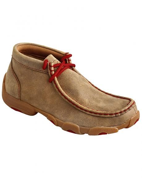 Twisted X  Kids' Leather Driving Mocs
