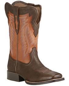 Ariat Boys' Buscadero Cowboy Boots - Square Toe
