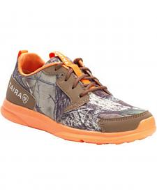 Ariat Youth Boys' Fuse Camo Mesh Shoes