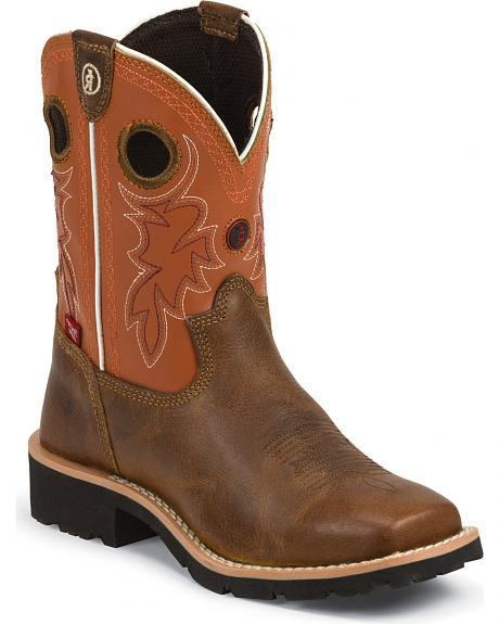 Tony Lama Youth Boys' 3R Western Boots - Square Toe
