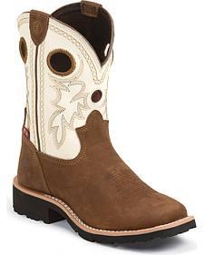 Tony Lama Boys' 3R Western Boots - Square Toe