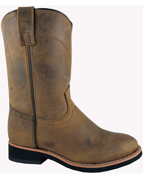Smoky Mountain Toddler Boys' Muskogee Roper Western Boots - Round Toe