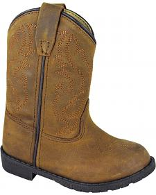 Smoky Mountain Toddler Boys' Hopalong Western Boots - Round Toe