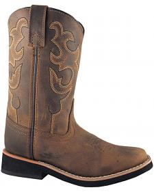 Smoky Mountain Toddler Boys' Pueblo Western Boots - Square Toe