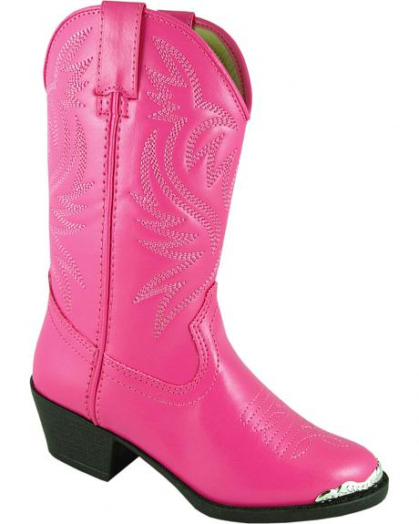 Smoky Mountain Toddler Girls' Mesquite Western Boots - Round Toe