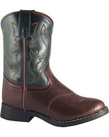 Smoky Mountain Toddler Boys' Diego Western Boots - Round Toe
