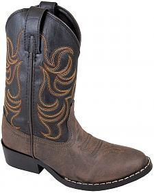 Smoky Mountain Toddler Boys' Monterey Western Boots - Round Toe