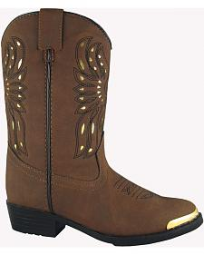 Smoky Mountain Boys' Phoenix Western Boots - Round Toe