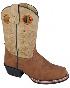 Smoky Mountain Boys' Memphis Western Boots - Square Toe