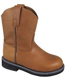Smoky Mountain Boys' Jackson Wellington Western Boots - Round Toe