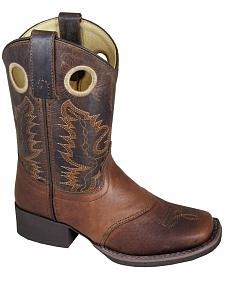 Smoky Mountain Boys' Luke Western Boots - Square Toe