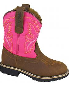 Smoky Mountain Girls' Colby Western Boots - Round Toe