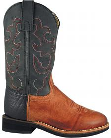 Smoky Mountain Boys' Seminole Western Boots - Round Toe