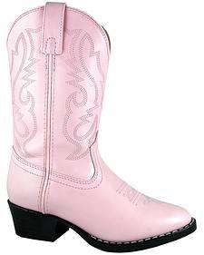 Smoky Mountain Girls' Denver Western Boots - Round Toe