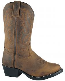 Smoky Mountain Boys' Denver Western Boots - Round Toe