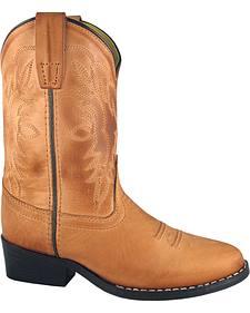 Smoky Mountain Boys' Bomber Western Boots - Round Toe