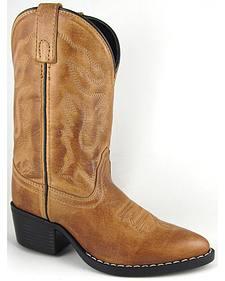 Smoky Mountain Boys' Dakota Western Boots - Medium Toe
