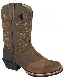 Smoky Mountain Boys' Sedona Western Boots - Square Toe
