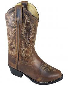 Smoky Mountain Girls' Annie Western Boots - Round Toe