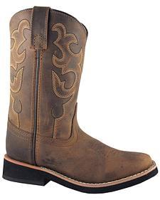 Smoky Mountain Boys' Pueblo Western Boots - Square Toe