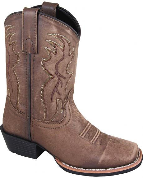 Smoky Mountain Boys' Gallup Western Boots - Square Toe