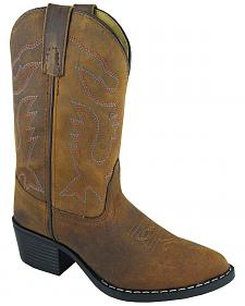 Smoky Mountain Girls' Dakota Western Boots - Round Toe