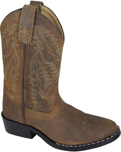 Smoky Mountain Boys' Roosevelt Western Boots - Round Toe