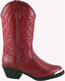 Smoky Mountain Youth Girls' Mesquite Western Boots - Round Toe