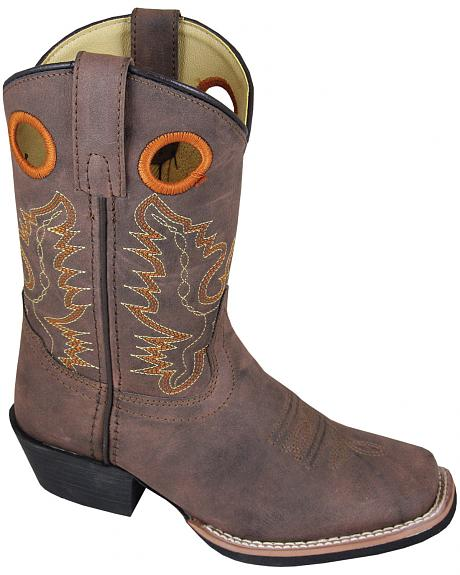 Smoky Mountain Youth Boys' Memphis Western Boots - Square Toe