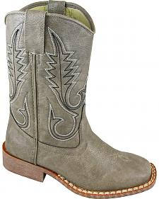 Smoky Mountain Youth Boys' Amarillo Western Boots - Square Toe