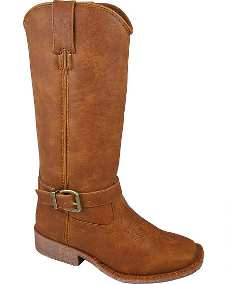 Smoky Mountain Youth Girls' Buttercup Tall Western Boots - Square Toe